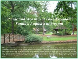 2015 Avondale Lake