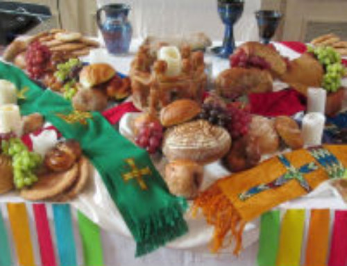 World Communion Combined Service and Potluck, Sunday Oct. 4 at 10:30 am