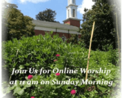 join us for worship online